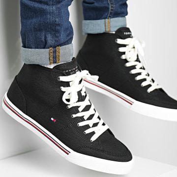 Tommy Hilfiger - Baskets Core Corporate Mid Textile 3392 Black