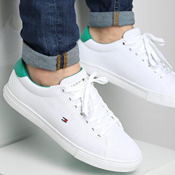 Tommy Hilfiger - Baskets Essential Knit Vulcanized 3474 White