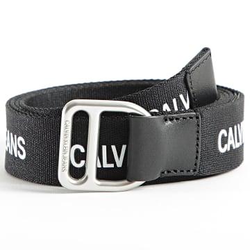 Calvin Klein - Ceinture Femme Slider Webbing 8290 Noir