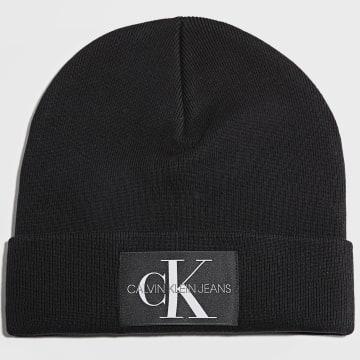 Calvin Klein - Bonnet Femme Monogram 8272 Noir