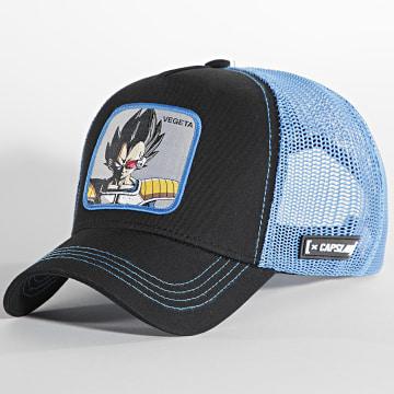 Capslab - Casquette Vegeta Noir Bleu