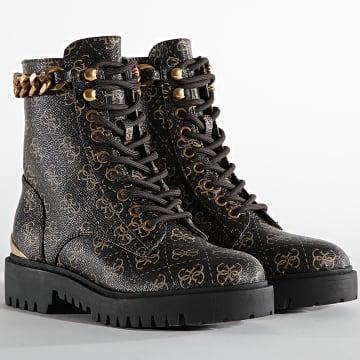 Guess - Boots Femme FL7ORMFAL10 Brown