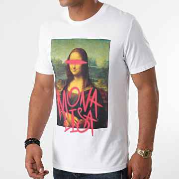 Luxury Lovers - Tee Shirt Mona Lisa Blanc