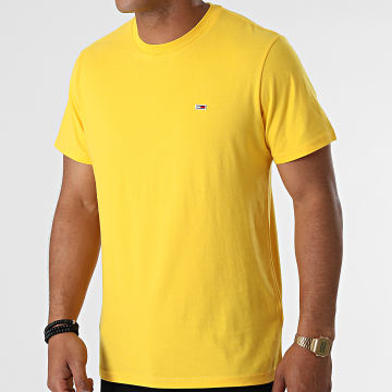 Tommy Jeans - Tee Shirt Classic Jersey 9598 Jaune