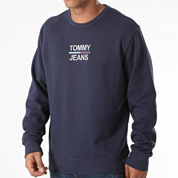 Tommy Jeans - Sweat Crewneck TJM Essential 0910 Bleu Marine