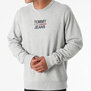 Tommy Jeans - Sweat Crewneck TJM Essential 0910 Gris Chiné