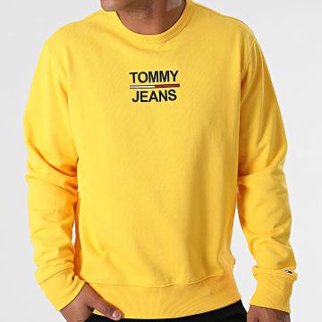 Tommy Jeans - Sweat Crewneck TJM Essential 0910 Jaune