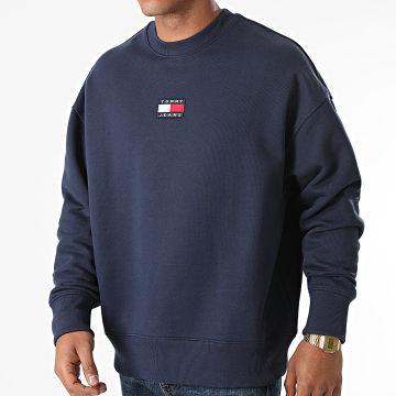Tommy Jeans - Sweat Crewneck Tommy Badge 0911 Bleu Marine