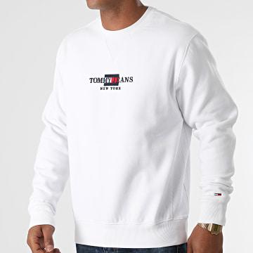 Tommy Jeans - Sweat Crewneck TJM Timeless 0912 Blanc