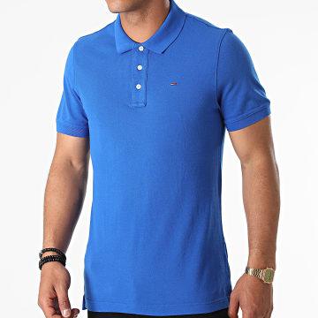 Tommy Jeans - Polo Manches Courtes Original Fine Pique 4266 Bleu Roi