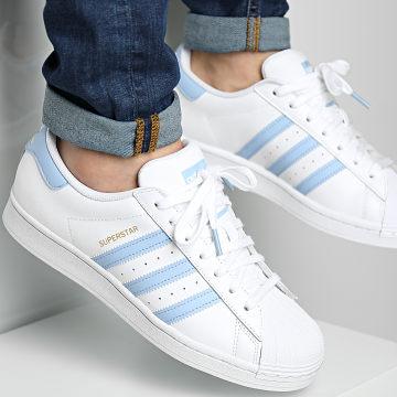 Adidas Originals - Baskets Superstar H05645 Cloud White Ambient Sky