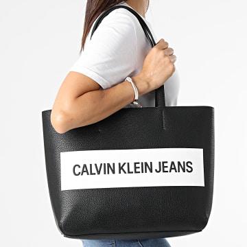 Calvin Klein - Sac A Main Femme Shopper 8563 Noir