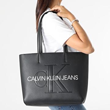 Calvin Klein - Sac A Main Femme Shopper 92 7200 Noir