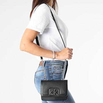 Calvin Klein - Sac A Main Femme Flap Shoulder 7891 Noir