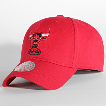 Mitchell and Ness - Casquette Prime Roy Velcro Chicago Bulls Rouge