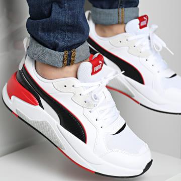 Puma - Baskets X-Ray Game 372849 White Black Urban Red Gray