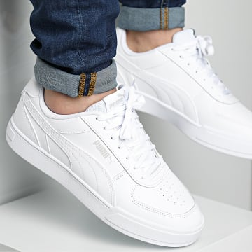 Puma - Baskets Caven 380810 White Gray