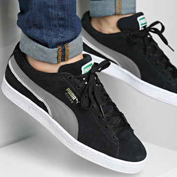 Puma - Baskets Suede Triplex 381175 Puma Black Steel Gray Puma White