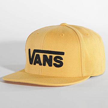 Vans - Casquette Snapback Drop V II Jaune