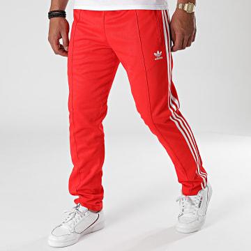 Adidas Originals - Pantalon Jogging A Bandes Beckenbauer H09114 Rouge