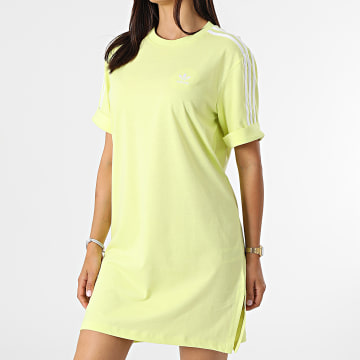 Adidas Originals - Robe Tee Shirt Femme H35504 Jaune