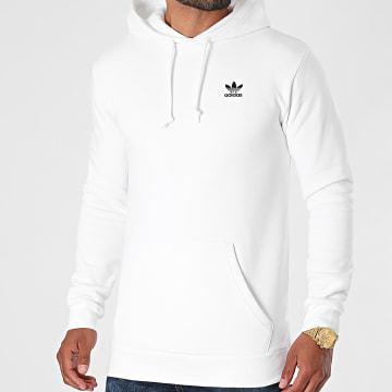 Adidas Originals - Sweat Capuche Essential H34654 Blanc