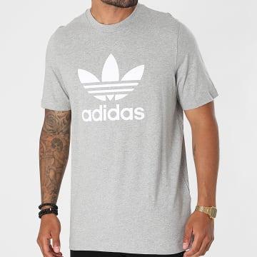 Adidas Originals - Tee Shirt Trefoil H06643 Gris Chiné