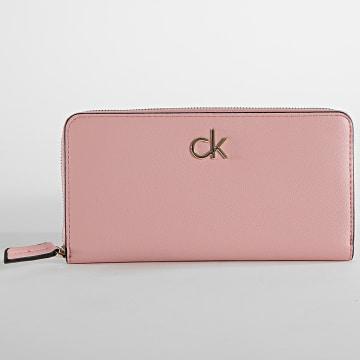 Calvin Klein - Portefeuille Femme 7180 Rose