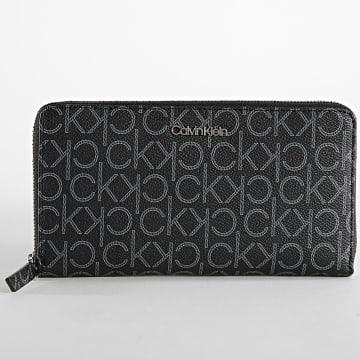 Calvin Klein - Portefeuille Femme Wallet XL 8125 Noir