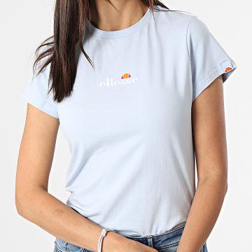 Ellesse - Tee Shirt Femme Ci Bleu Clair