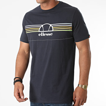 Ellesse - Tee Shirt Lentamente SHJ11918 Bleu Marine