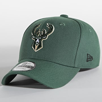 New Era - Casquette 9Forty The League 11405602 Milwaukee Bucks Vert