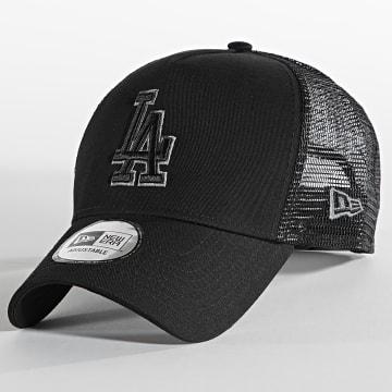 New Era - Casquette Trucker Team Logo 12523912 Los Angeles Dodgers Noir