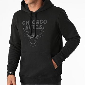 New Era - Sweat Capuche Chicago Bulls Team Logo 11546180 Noir