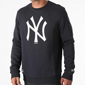 New Era - Sweat Crewneck New York Yankees Team Logo 11204078 Bleu Marine