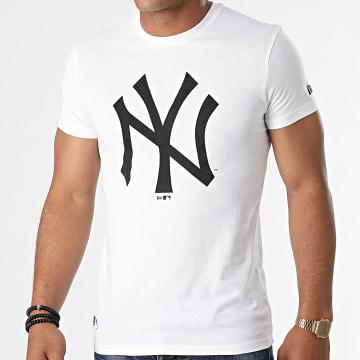 New Era - Tee Shirt New York Yankees Team Logo 11863818 Blanc