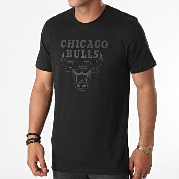 New Era - Tee Shirt Team Logo Chicago Bulls 11546155 Noir