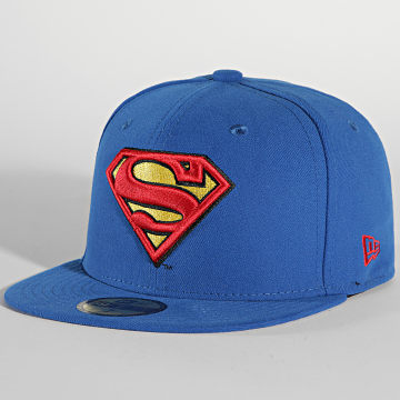 New Era - Casquette Fitted 59Fifty Character Basic 10862337 Superman Bleu Roi