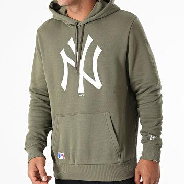 New Era - Sweat Capuche Team Logo New York Yankees 11863698 Vert Kaki