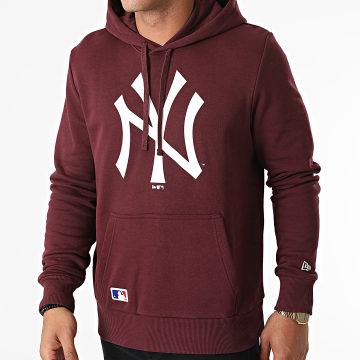 New Era - Sweat Capuche Team Logo New York Yankees 11863699 Bordeaux