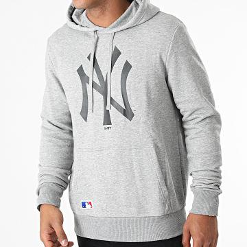 New Era - Sweat Capuche Team Logo New York Yankees 11863700 Gris Chiné