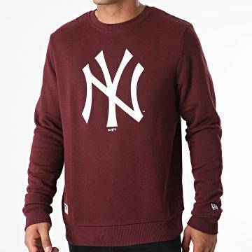 New Era - Sweat Crewneck Team Logo New York Yankees 11863702 Bordeaux