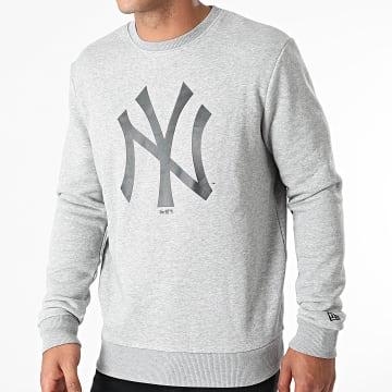 New Era - Sweat Crewneck Team Logo New York Yankees 11863704 Gris Chiné
