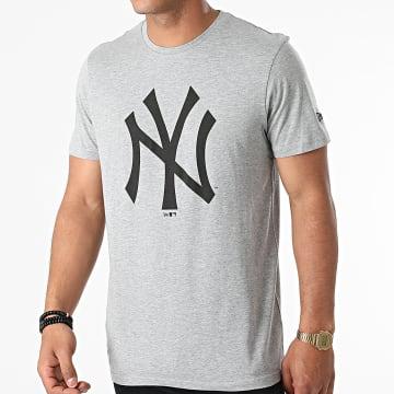 New Era - Tee Shirt Team Logo New York Yankees 11863696 Gris Chiné