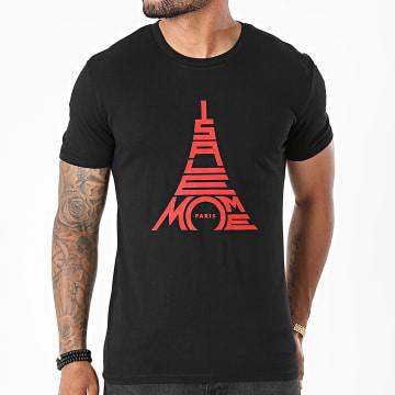 Niro - Tee Shirt Paris Noir Rouge