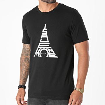 Niro - Tee Shirt Paris Noir Blanc