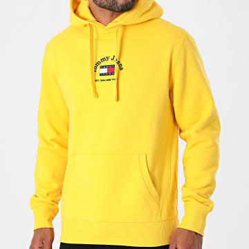 Tommy Jeans - Sweat Capuche Timeless 0909 Jaune