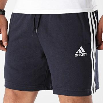 Adidas Performance - Short Jogging A Bandes 3 Stripes GK9598 Bleu Marine