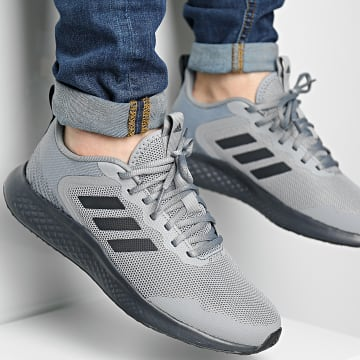 Adidas Performance - Baskets Fluid Street GZ2718 Grey Carbon Core Black