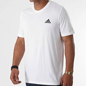 Adidas Performance - Tee Shirt M SL GK9640 Blanc